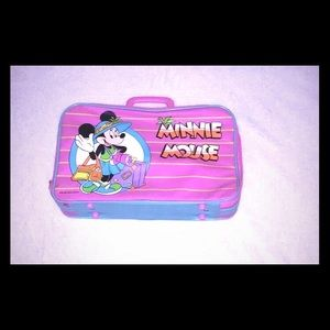 DISNEY VINTAGE MINNIE MOUSE SUITCASE  FOR GIRLS